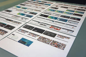 Tiny Things Neatly Organized: Getting Out of a Design Rut - Make Information Tangible