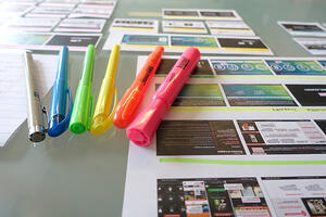 Tiny Things Neatly Organized: Getting Out of a Design Rut - Make Ideas Tangible